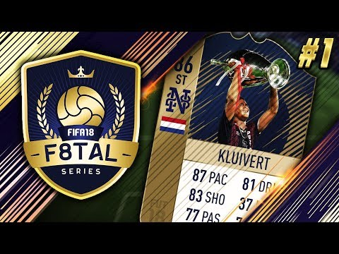 START OF THE NEW YOUTUBER SERIES!!!! - F8TAL ICONS #1 - FIFA 18 Ultimate Team