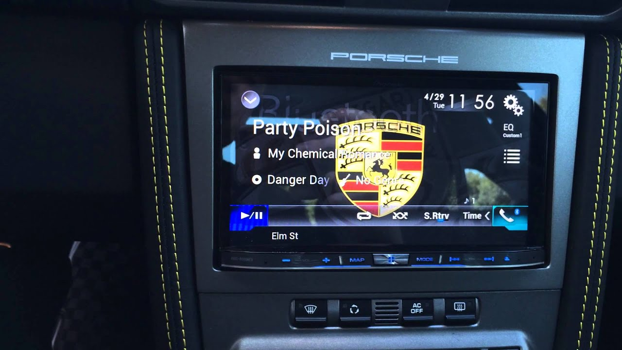 Porsche 911 Gt2 Carrera 997 Pcm Upgrade Pioneer Avic 8000nex With Car Play And Mirror Link