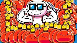 They Let Me Spawn Over 1000 Bosses So I Had To Eat Over 4000 Orbs in Forager