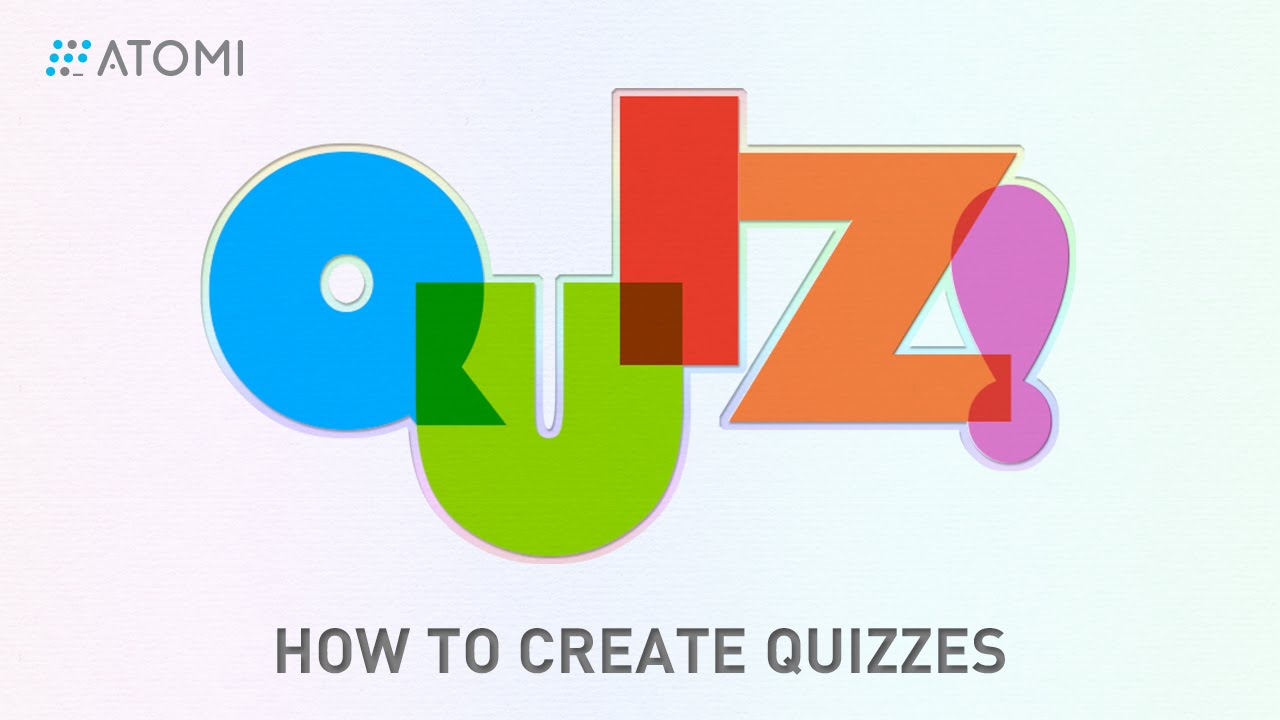 Quizzes - How To Create Quizzes Screencast Video Editor Elearning Authoring Software