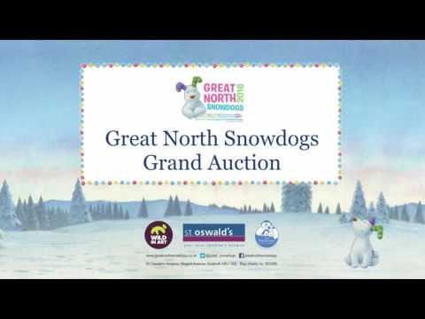 Great North Snowdogs Grand Auction LIVE