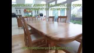 Bespoke Furniture, Jonathan Evans,carpentry & Joinery Ballincollig Cork  086/2604787