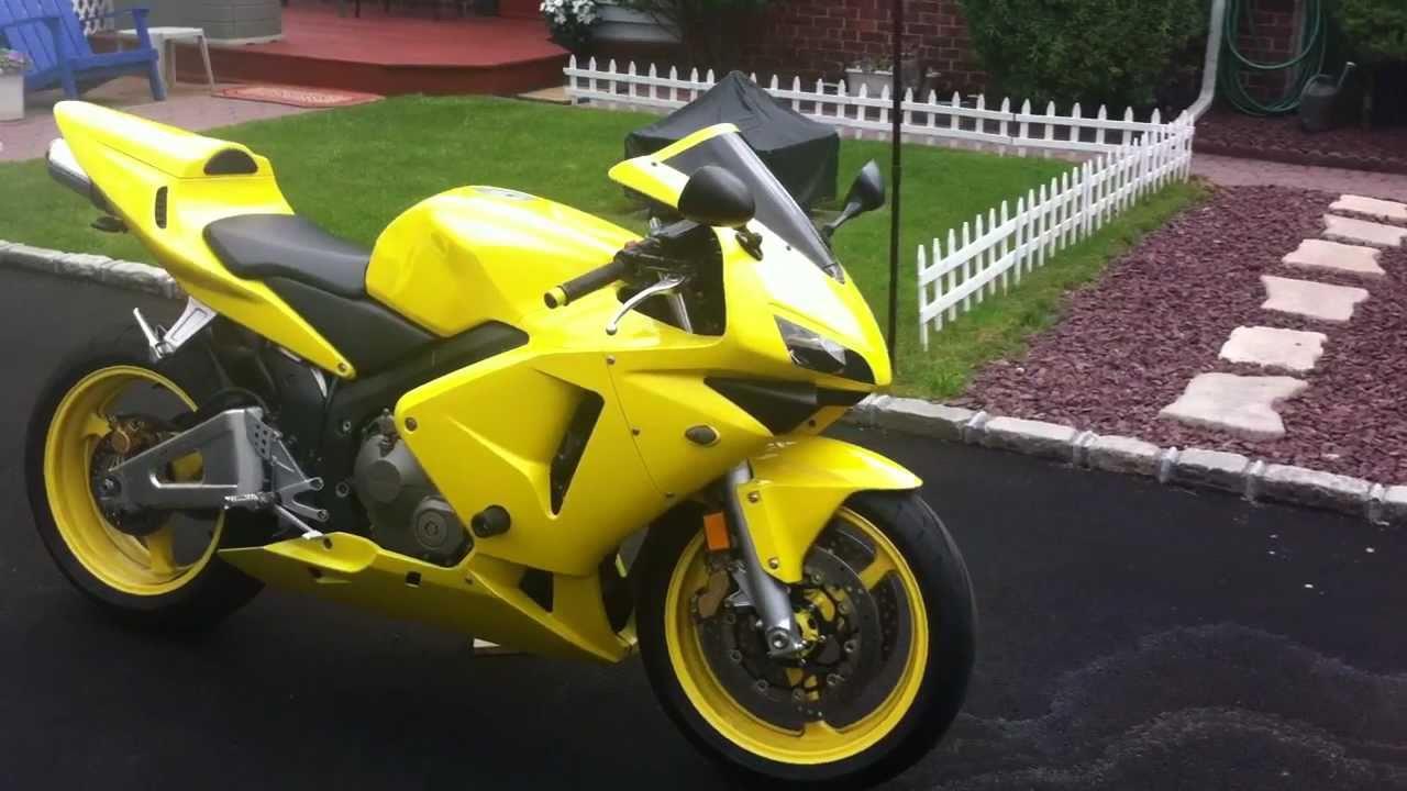 2003 Honda CBR 600rr walk around - YouTube