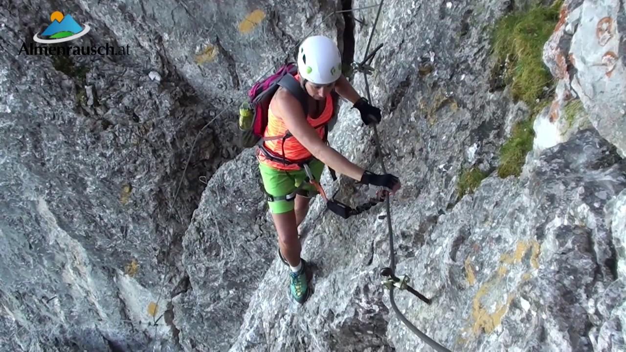 Klettersteig English : Nordwand klettersteig und elferspitze youtube