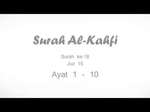 Surah Al Kahfi Ayat 1 - 10