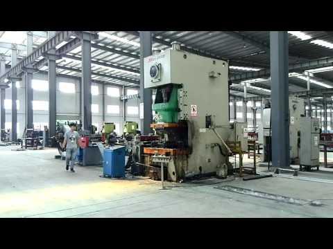 Upright post production process @ Jiangsu Huayi Zhongheng Metal Technology Development Co., Ltd
