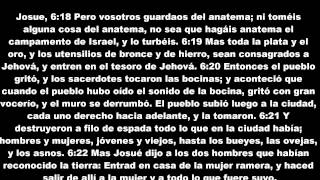 09 LA BIBLIA Josue 2ª Parte