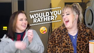 Would You Rather?? (feat. Brittany Broski) | Sarah Schauer