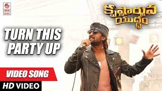 Turn This Party Up Full Song Krishnarjuna Yuddham songs | Nani, Anupama, Rukshar