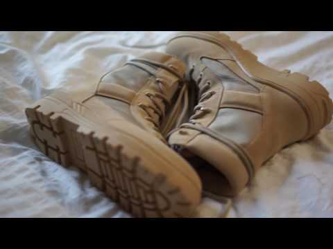 YEEZY SEASON 4 COMBAT BOOT UNBOXING + ON FOOT