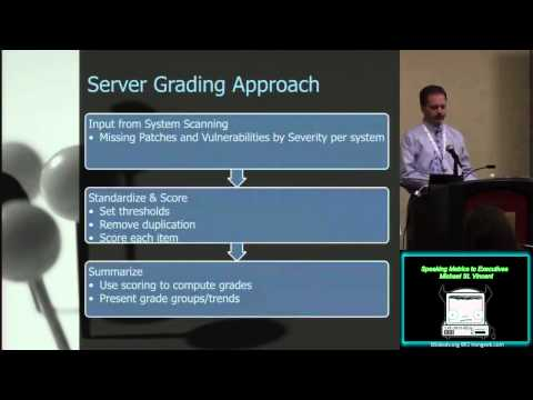 PG00 Speaking Metrics to Executives Michael St Vincent