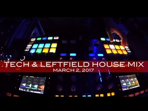 Tech House & Leftfield Techno Mix Deep Underground House Dance March 2, 2017 Hour Mix!