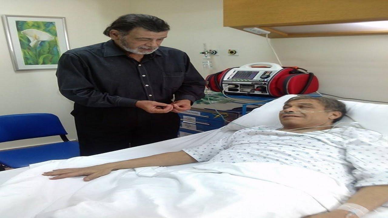 خالد صالح بعد عملية القلب المفتوح البقاء لله وربنا يرحمه آمين يارب