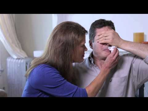 WATCH: Man Sees His Family For First Time After 27 Years Holding His Hand Over His Eyes