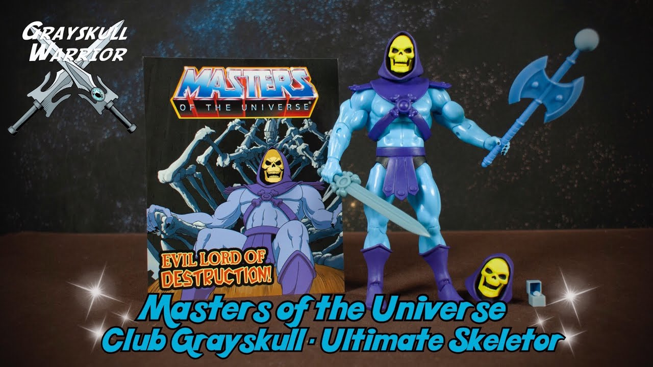 Super7 Masters of the Universe Club Grayskull Ultimate Skeletor Action Figure
