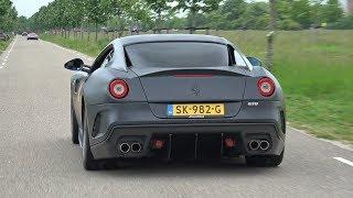 Ferrari 599 GTO - BRUTAL V12 EXHAUST SOUNDS!