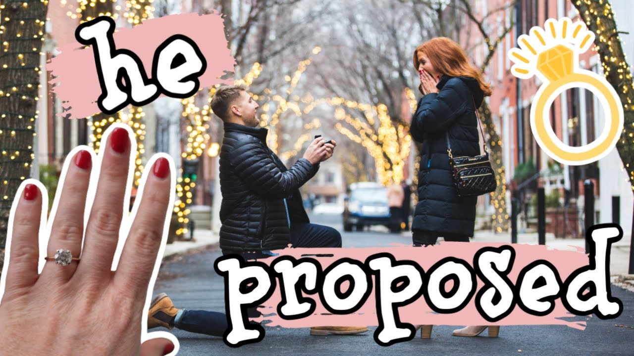 HE PROPOSED! | Our Engagement Story! - YouTube