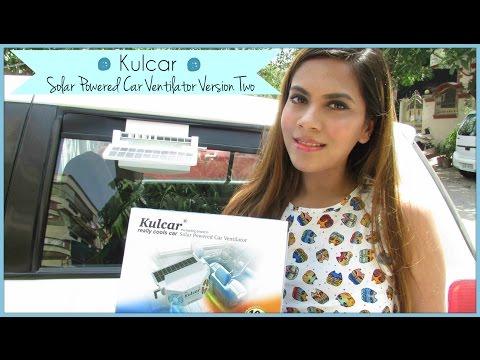 Kulcar Solar Powered Car Ventilator Version Two Review