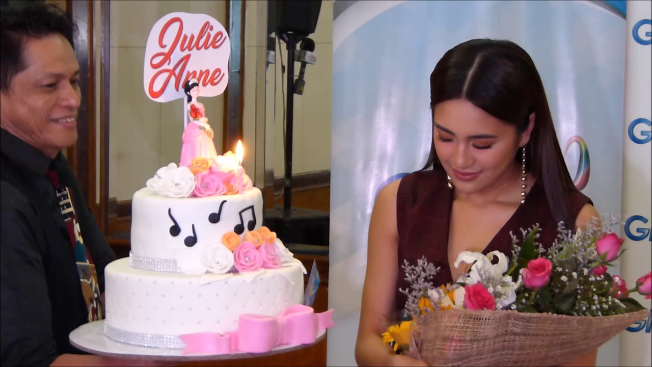 A Birthday Cake For Julie Anne San Jose Youtube