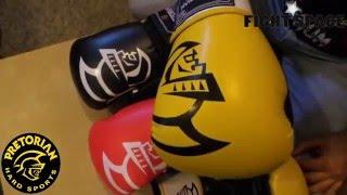 Видеообзор на перчатки боксерские Pretorian