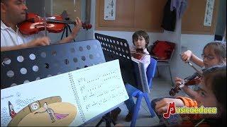 Conoce las clases de iniciación musical con el método Mi Violín de Musicaeduca