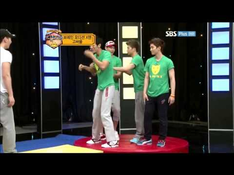 [2AM+2PM] Seulong afraid of Chansung???