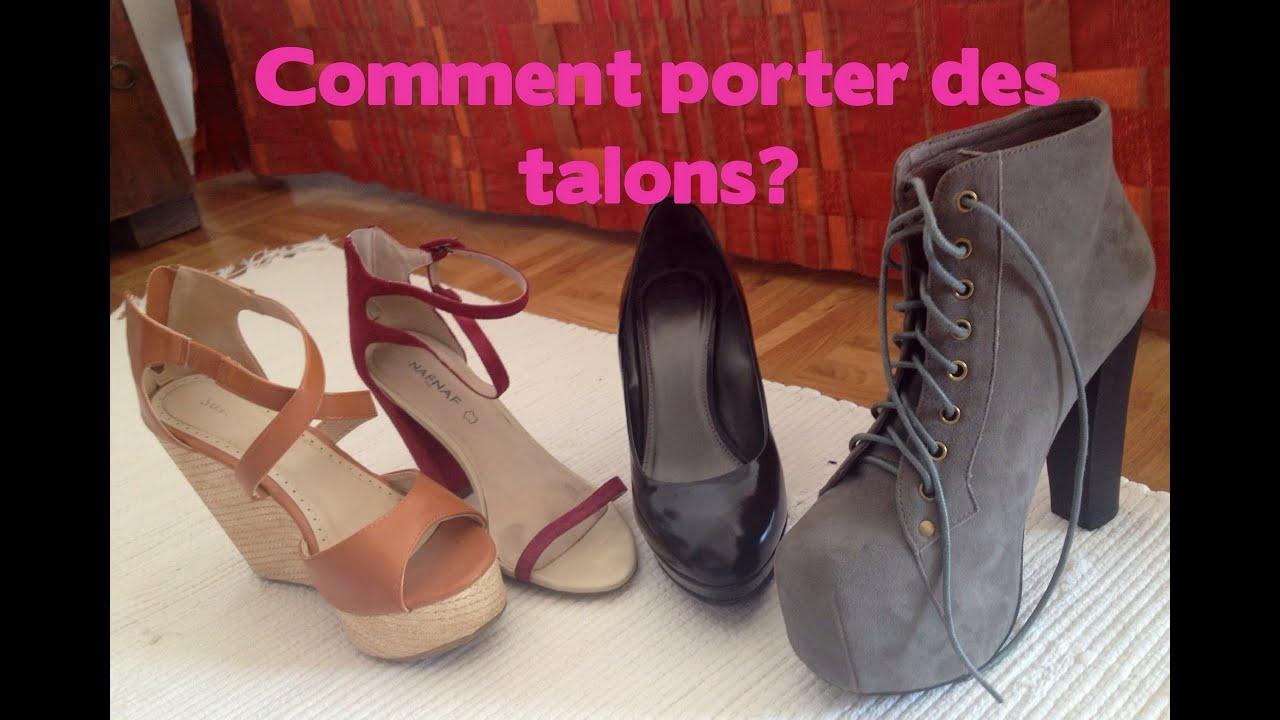 Conseils comment porter des chaussures talons youtube - Comment cirer des chaussures ...