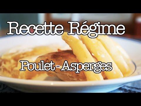 recette-rÉgime-poulet-asperges