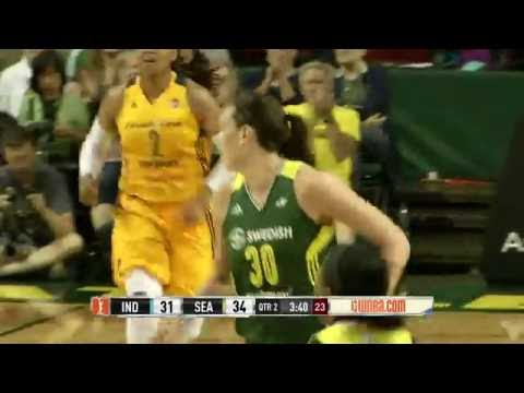 Breanna Stewart Drops 32 in Loss to Fever