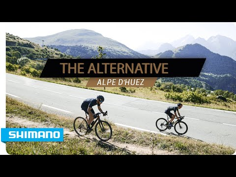 The Alternative - Alpe d&39;Huez gravel ride  SHIMANO