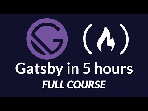 The Great Gatsby Bootcamp - Full Gatsby.js Tutorial Course