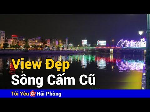 View đẹp bên khu đóng tàu Sông Cấm cũ | Biệt thự bên sông Hoàng Huy ở Hải Phòng năm 2021
