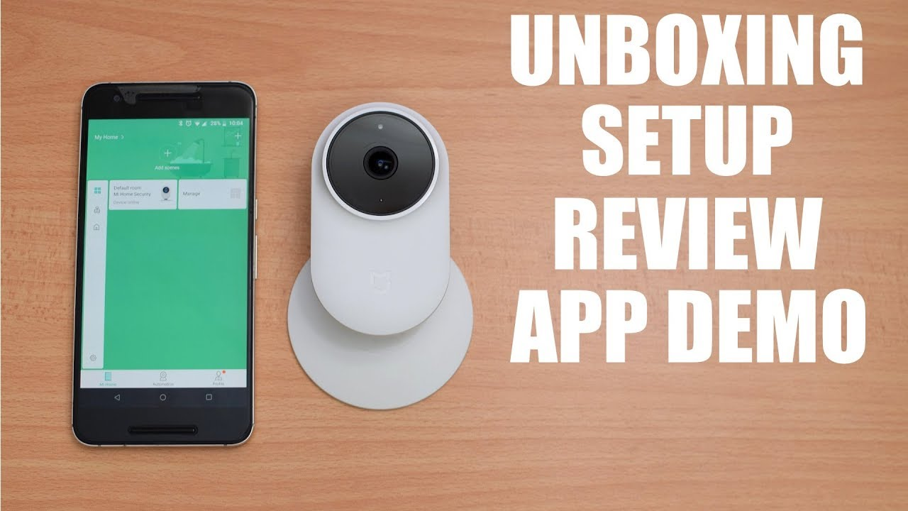 Xiaomi Mijia 1080P Smart IP Security Camera - Review - YouTube