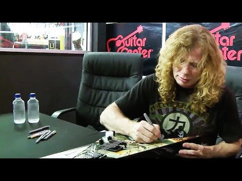 Megadeth - Dave Mustaine at Guitar Center in Dallas, TX Thumbnail image
