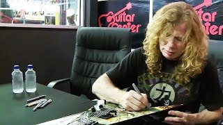Guitar Center - Dave Mustaine - Dallas TX
