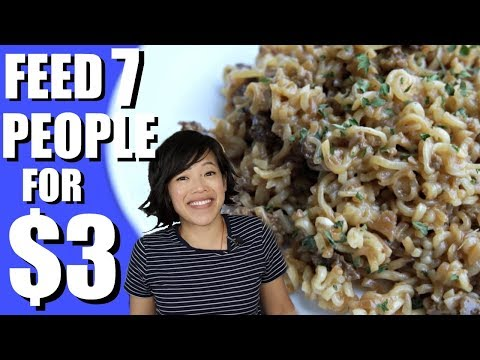 AUNTIE FEE'S  How to Feed 7 People For $3 | HARD TIMES – recipes from times of food scarcity