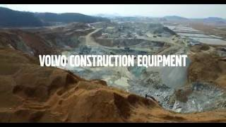 Volvo crawler excavator EC750E - Winning Performance