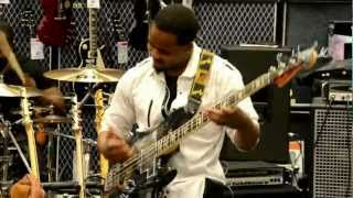 RODNEYJONES JR  1st performance from the Bass Clinic...
