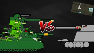 Another battle-Cartoon about tanks