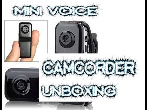 Mini Voice Recorder Portable DV Digital Video Camera with TF Card Slot and LED