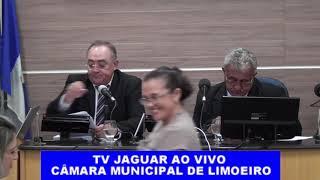 SESSÃO CÂMARA MUNICIPAL DE LIMOEIRO 14 novembro 2018