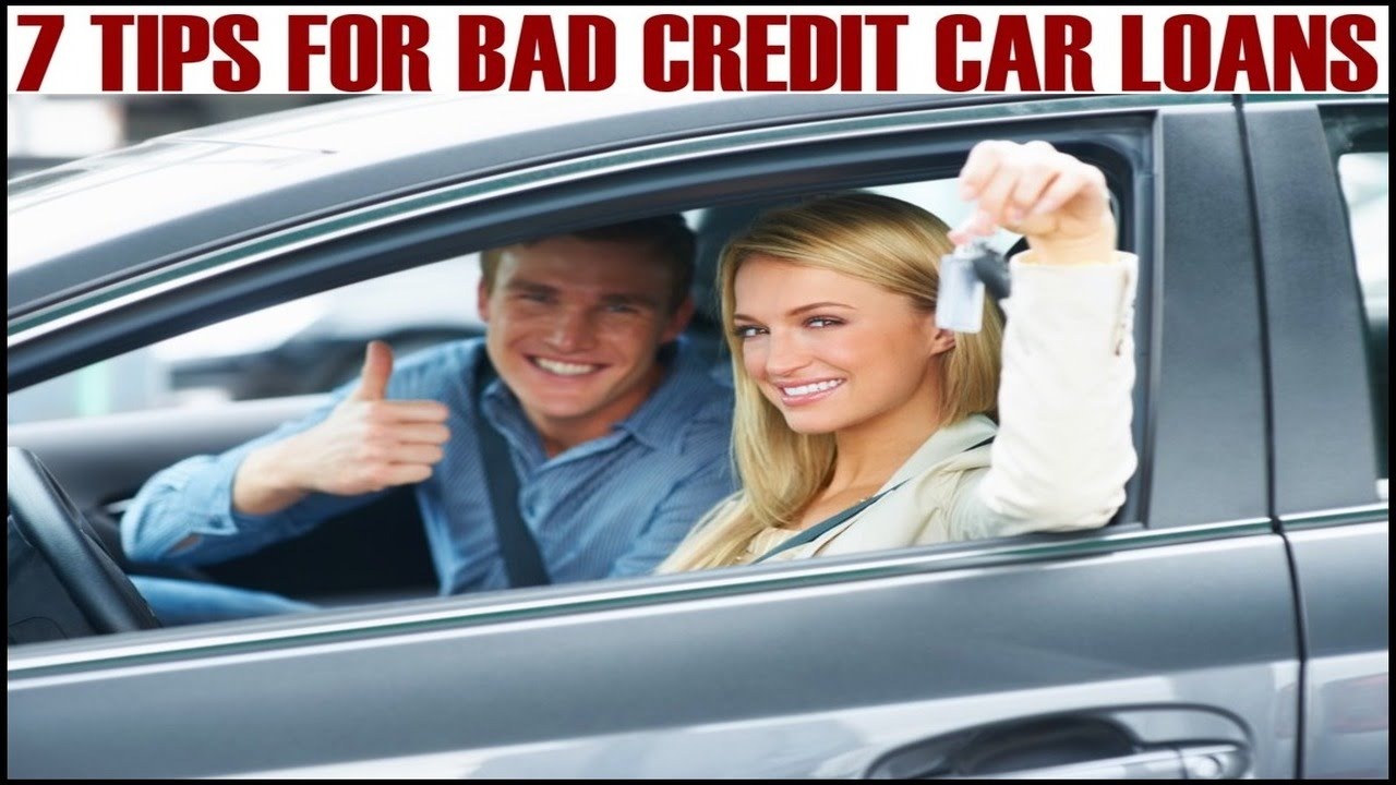 PRE-APPROVED CAR LOANS | 7 Tips For Bad Credit Auto Financing