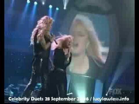 Lucy Lawless (Xena) & Bonnie Tyler
