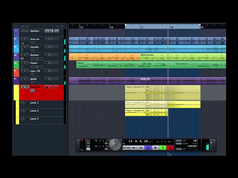 How to Perform Advanced Audio Recording in Cubase   Getting Started with Cubase Pro 8