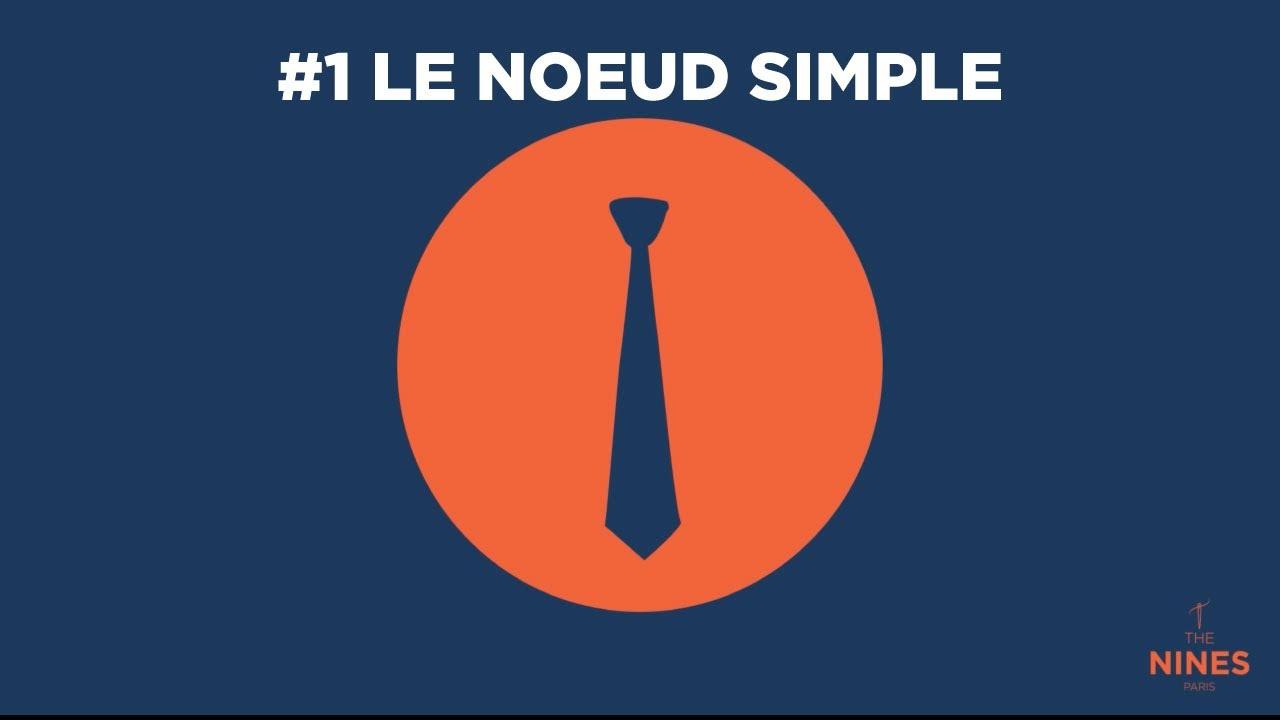 tuto 1 le noeud simple de cravate en 5 etapes youtube. Black Bedroom Furniture Sets. Home Design Ideas
