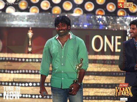 Vijay Sethupathi comedy speech in Vijay awards