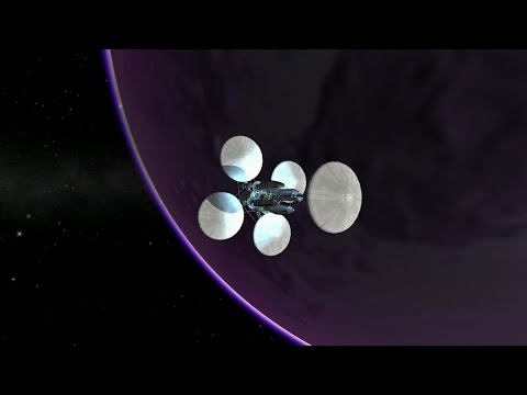 EVE and BACK one launch expedition (Kerbal 1.2.2)