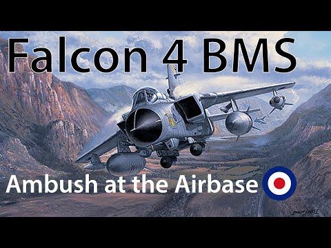Falcon 4 BMS Tornado Ambush at the Airbase