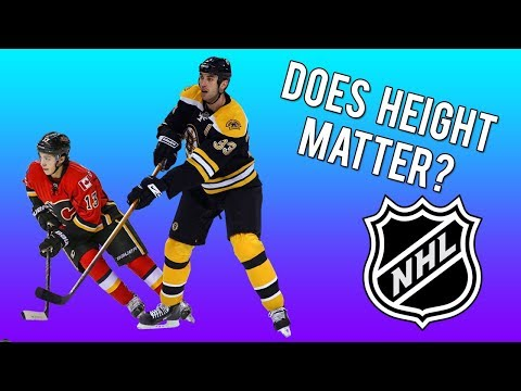 Tallest Players vs. Shortest Players In The NHL - Does Height Matter?