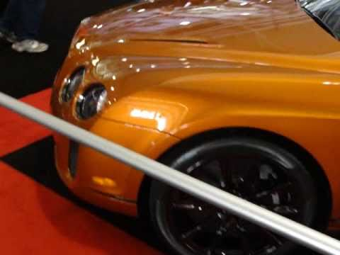 Burnt orange bentley supersports rare color youtube for Peinture orange brule